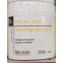 Máscara Capilar Manteiga De Karitê Miss Anne 500g