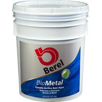 Berel Biometal Esmalte Ecológico Base Agua Sin Olor 19lt