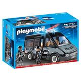 Playmobil 6043 Camioneta Especial De Policia Original Intek
