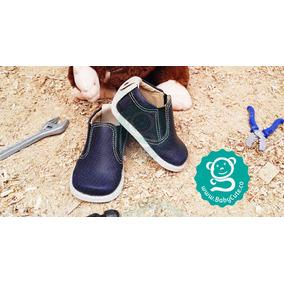 Lindos Zapatos Para Niño Bebé No Tuerce - Azul Oscurso