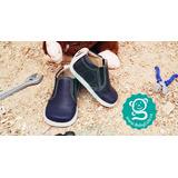 Lindos Zapatos No Tuerce Bebé Niño Azul Oscuro Babycute