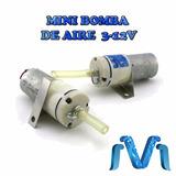 Mini Bomba De Aire 3 A 12 V Para Arduino Con Mini Manguera