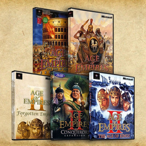 Age Of Empires Combo 1+2+expansiones Español Completo Pc