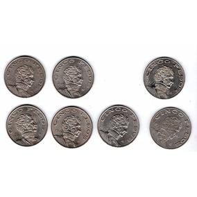 Coleccion Moneda Antigua Cinco Pesos 1971 A 1978 A1
