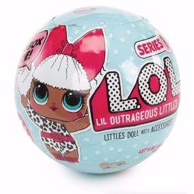 Mini Boneca Surpresa Lol - Lil Outrageous Littles - Serie 1