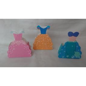 Cajita Para Dulces En Forma De Vestido De Princesa