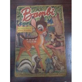 Album De Figurinhas Bambi Antigo