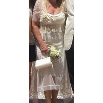 Vestido De Fiesta Importado , Novia O Madrina De Sathya