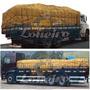 Encerado 8x6 Lona De Algodão Caminhão Toco Truck Ocre +iho