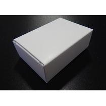 Cajas Cartón Cartulina Sulfatada Blanca Paquete C/10 Cajitas