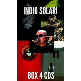 4 Cds Indio Solari Discografia Completa Original/ Nuevos.-