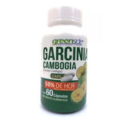 Garcinia  Cambogia 60 Caps. 50% De Hca Greenside Termogenico