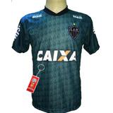 31c9bd6690 Camisa Atletico Mineiro Preta 2015 - Camisas de Times de Futebol no ...