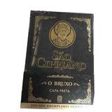 Livro São Cipriano O Bruxo Capa Preta De Aço Pallas Promoção