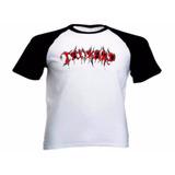 Camiseta Raglan Personalizada - Tankard - Logo