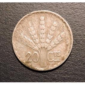 Uruguay 20 Centésimos O Centavos De Plata 1942 - Mundocoin