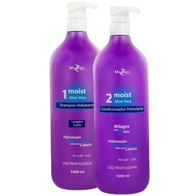 Kit Moist Aloe Vera 1000ml Mairibel Cosmeticos