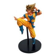 Miniatura Colecionável Estátua Goku 23cm Pvc