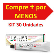 Kit 30 Colorações Itallian Color Professional 60g