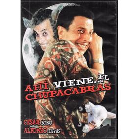 Ahí Viene El Chupacabras - César Bono - Alfonso Zayas - Dvd