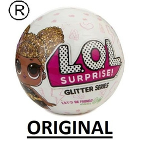 Boneca Surpresa Lol Serie Glitter Original Envio Imediato