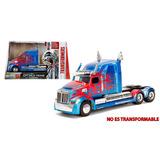 Transformers Tlk Optimus Prime Camion Coleccion Jada - 1:24