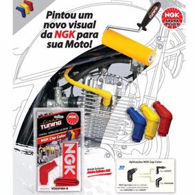 Cachimbo Vela Ngk Colorido Cg Fan Mix 150 Titan Esi Nxr Bros