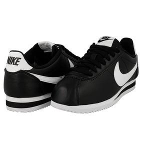 Tenis Nike Cortez Negro Clasicos Talla #4 A La 6 Original
