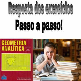 Respostas Livro Geometria Analítica - Steinbruch E Winterle