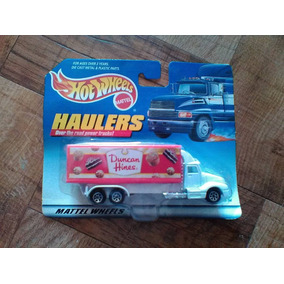 Duncan Hines Haulers Hot Wheels Tractocamion Trabucle