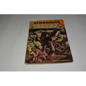 Almanaque De Tarzan 1961 - Ebal - Original