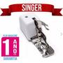 Calcador Pé Overlock C/ Sistema Corte Patchwork Marca Singer