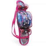 Skate Infantil Semi Profissional Frozen Feminino + Proteção