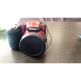 Nikon Coolpix L830 Digital Cámara Color Roja