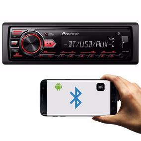 Mp3 Player Pioneer Mvh-298bt Usb Android Bluetooth Rca