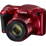 Canon Cámara Digital Powershot Sx420 Is Color Roja