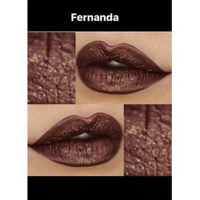 Bruna Tavares - Batom Liquido Metalizado - Fernanda