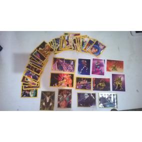 Figurinhas Cavaleiros Do Zodíaco 2005 Com 54 Fret Gratis