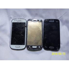 Vendo Lote 3 Celular Samsung Com Defeito Ver Fotos