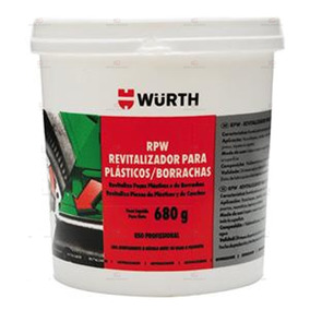 Rpw Wurth - Revitalizador De Plastico E Borracha 680g
