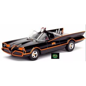 Miniatura Classic Tv 1966 Batmóvel Batman Séries Batmob Jada