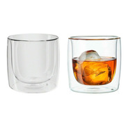2 Copos Para Whisky Parede Dupla 266 Ml Zwilling Sorrento