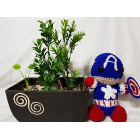 Capitan América Tejido A Crochet