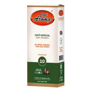 Cápsula Café Aroma Intensidade 10 Compatível Nespresso