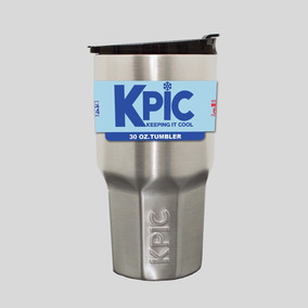 Paquete 2 Kpic 30oz Tumbler Tapa Spill Proof, Tipo Yeti Rtic