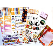 Combo Halloween Bullet Journal Bujo Scrapbooking 90 Stickers