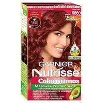 Tintura De Cabello Garnier Nutrisse Colorissimos Manzana