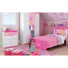 Jogo De Quarto Pura Magia Barbie Happy - Shop Tendtudo*