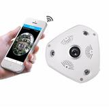 Camera De Seguranca Ip Panoramica 360 Grau Wifi 1,3 Mp Infra