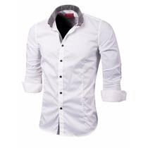Valkymia Camisa Entallada Galileo Algodon Premium